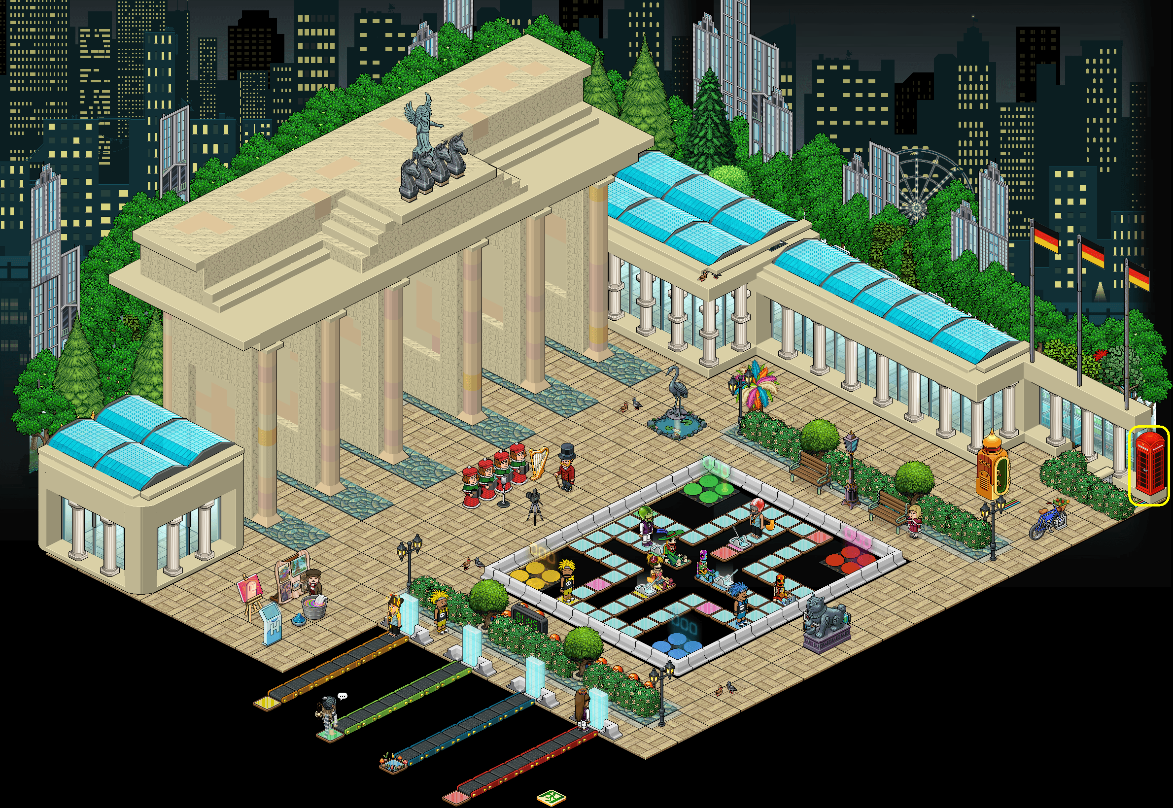 Habbo Tour - Direction l'Europe ! - Berlin