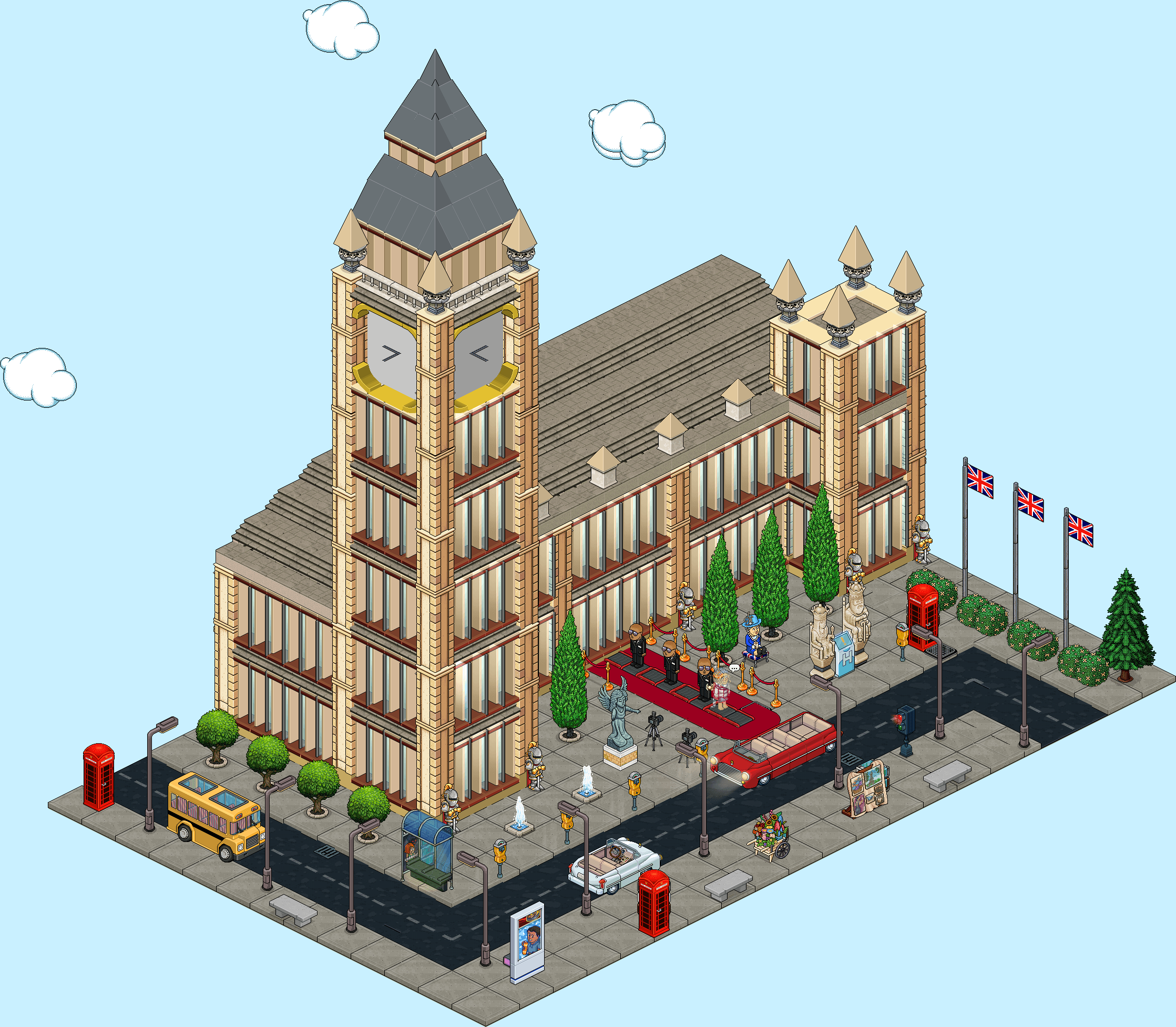 Habbo Tour - Direction l'Europe ! - Londres