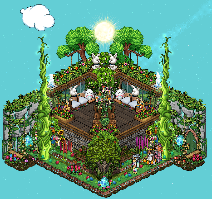 [HPEW] Un jardin ensoleillé pour Pâques
