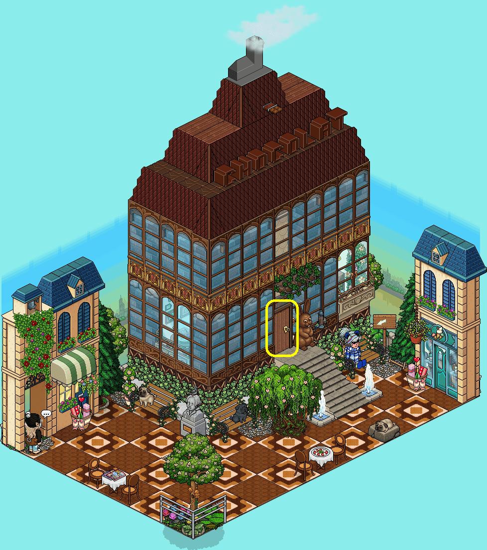 [HPEW] Extérieur de la chocolaterie