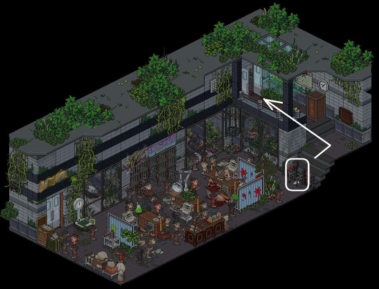 (') Escape Lab - X