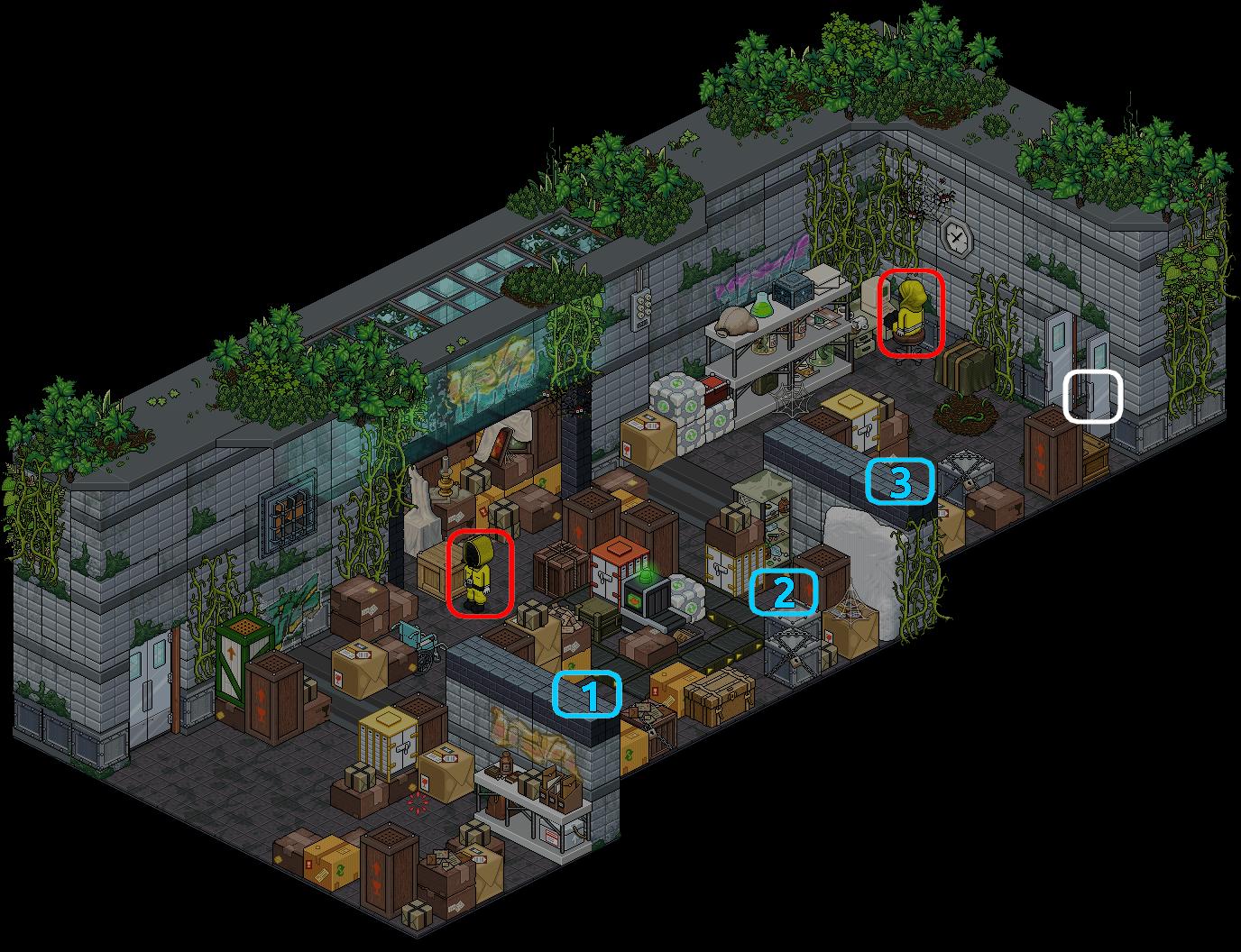 (') Escape Lab - VII
