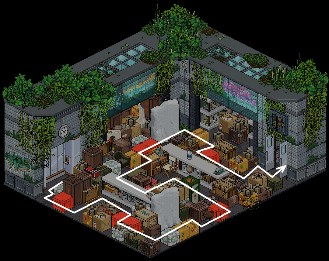 (') Escape Lab - VI