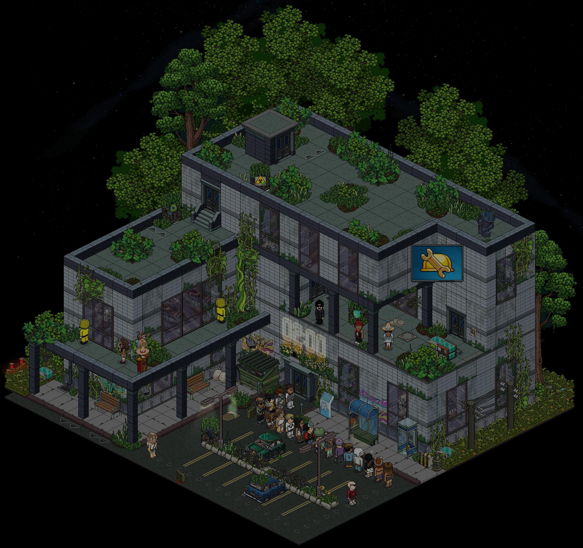 (') Escape Lab - Entrée