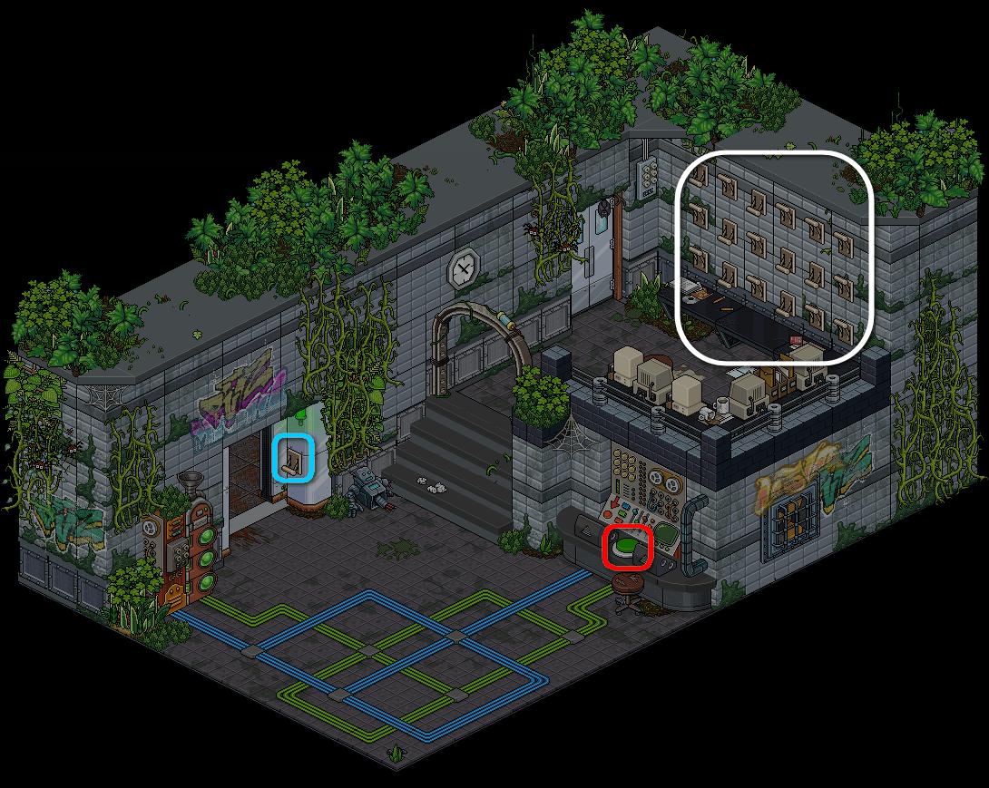 (') Escape Lab - V
