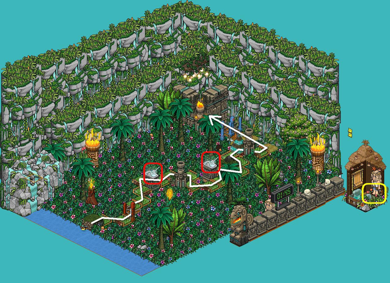 :: La Jungle du Temple Maudit 1 ::