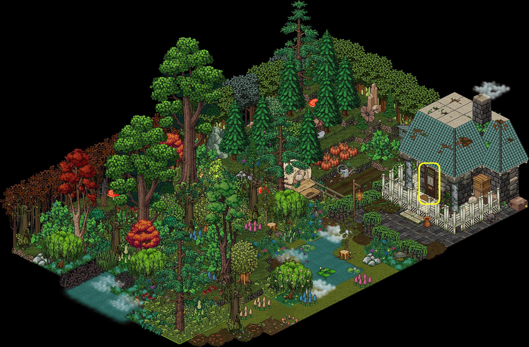 [A] Maison dans la forêt