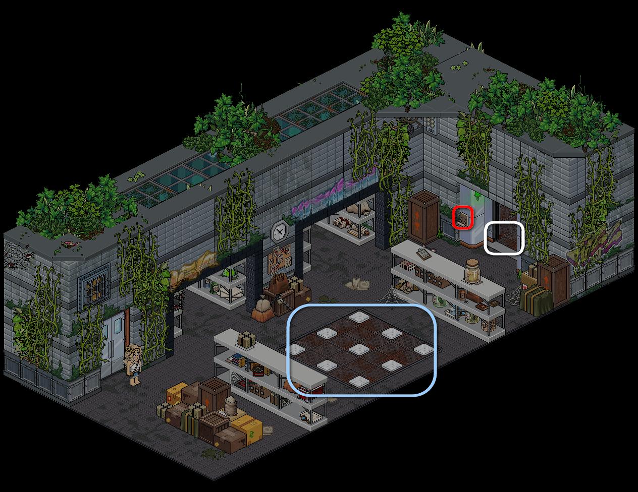(') Escape Lab - VIII