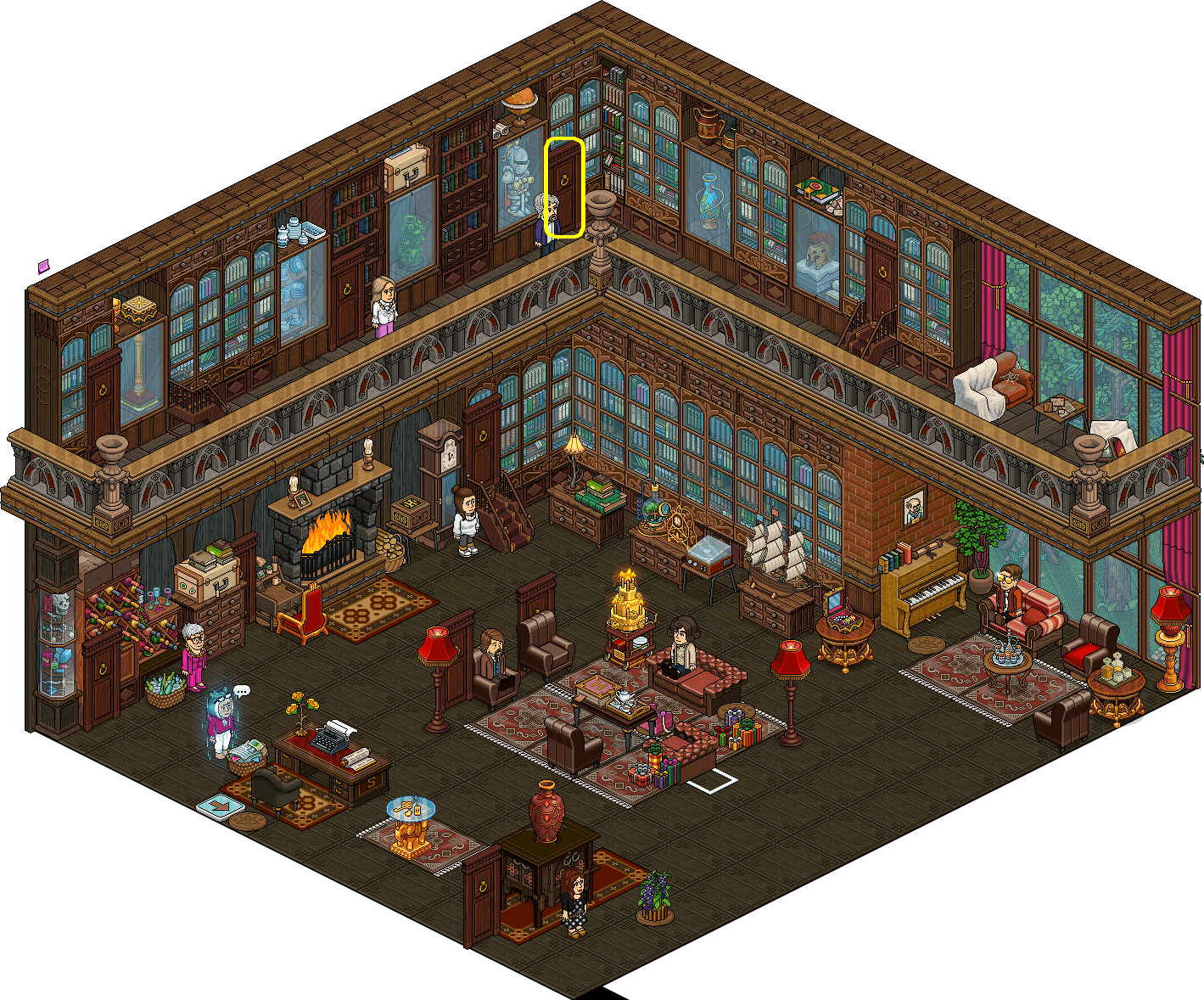 [K.O] - Tutoriel0 - Salon principal - les suspects