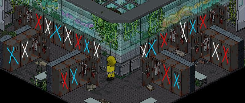 (') Escape Lab - IV - Casiers fouillés