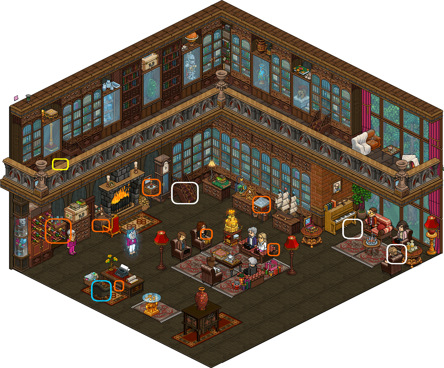 [K.O] Introduction2 - Salon principal - soirée