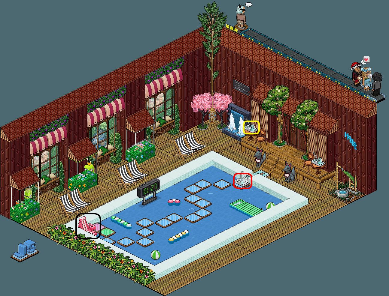 JS - Piscine de l'Hôtel