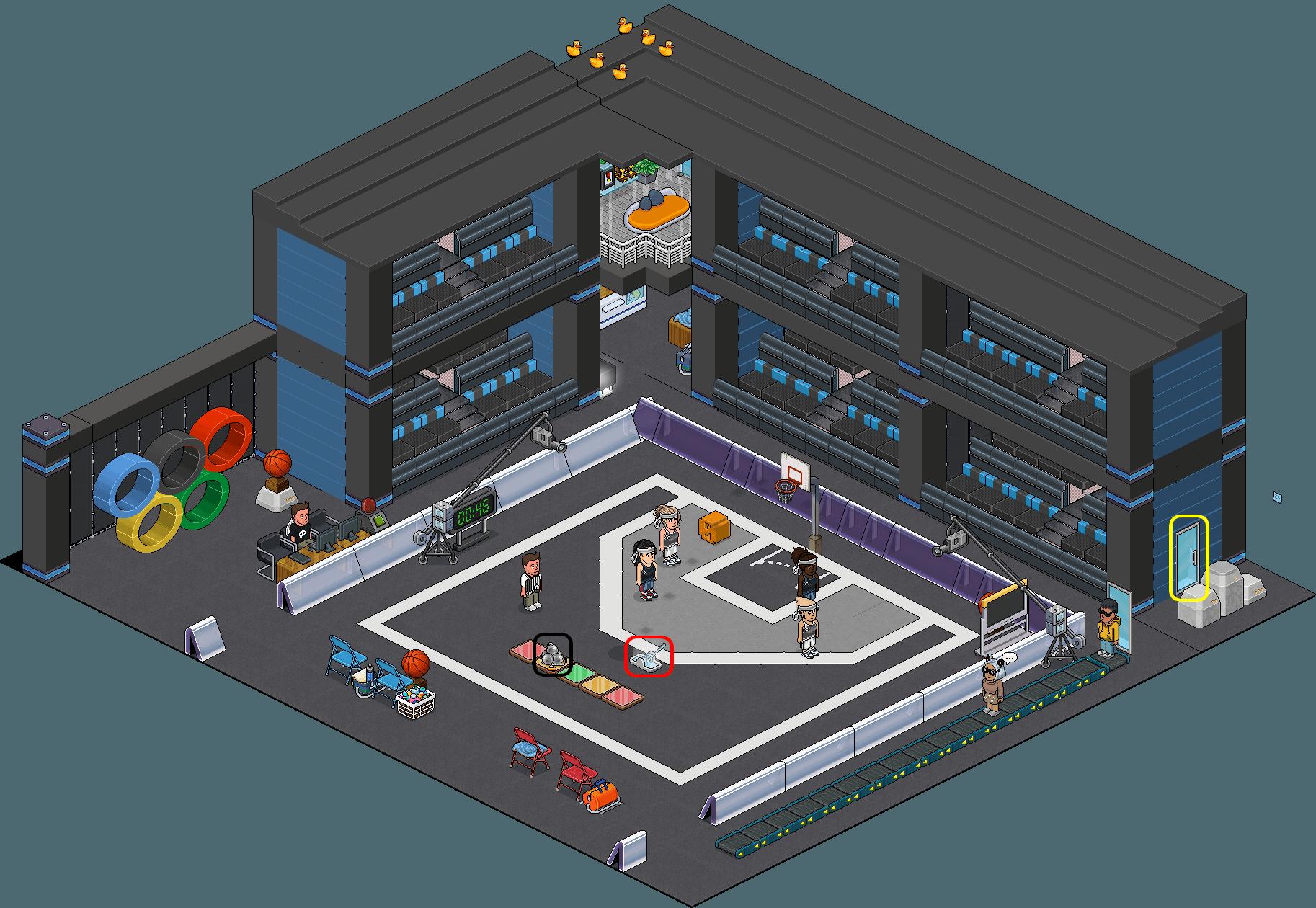 [HNC] Jeux Habbolympiques - Basket 3x3