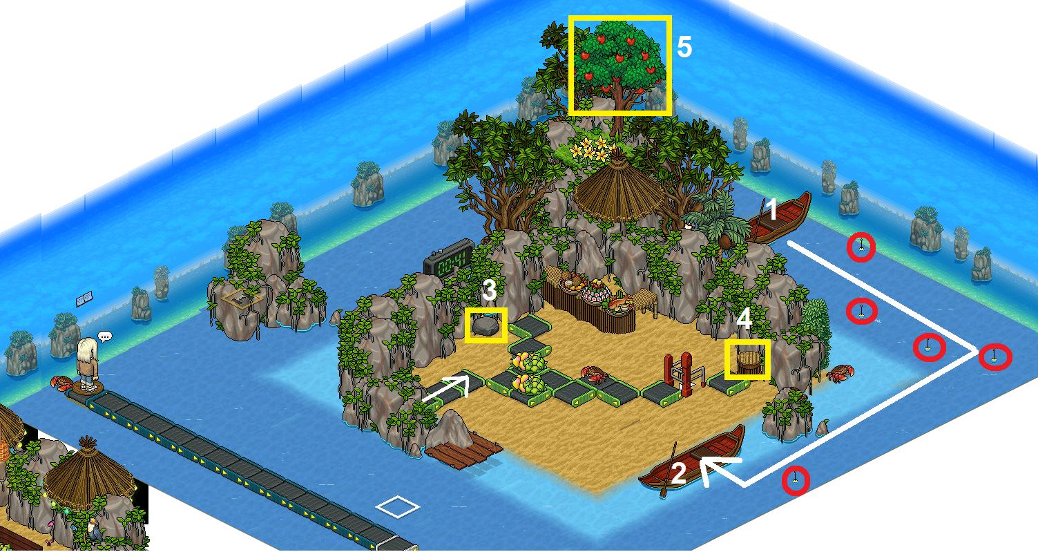 JS - Île tropicale